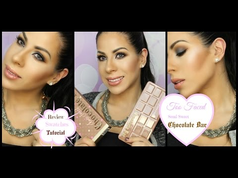 Too Faced Semi Sweet Chocolate Bar Palette : Review, Swatches and Tutorial