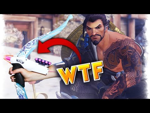 WTF Hanzo Bow.. | Overwatch Best and Funny Moments - Ep.157