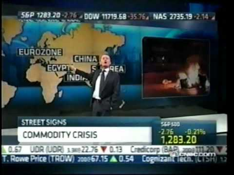 THE END TIMES - GLOBAL FAMINE IN 2011 on CNBC