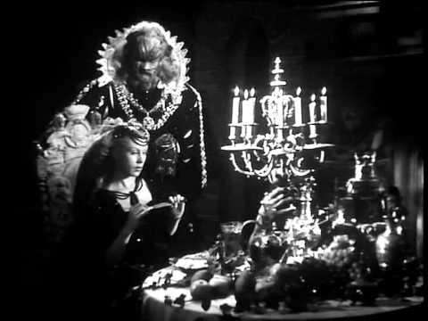 La Bella y la Bestia (1946) - El primer encuentro de Bella con la Bestia