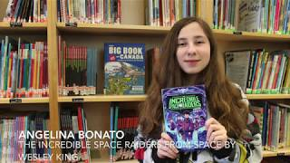 "County Reads JR ""The Incredible Space Invaders from Space"""