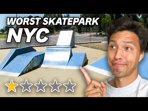 The Worst Skatepark in NYC