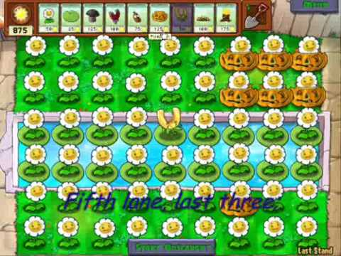 Easy but small money strategy (the first strategy ever posted) - Plants vs Zombies (PC)