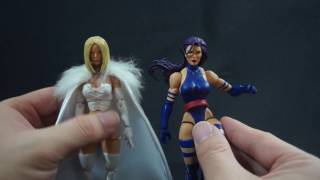 Custom Figure Spot Light! Marvel Legends Psylocke + Emma Frost!