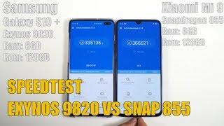 Speedtest Snapdragon 855 vs Exynos 9820 và RAM 8GB có cần thiết?