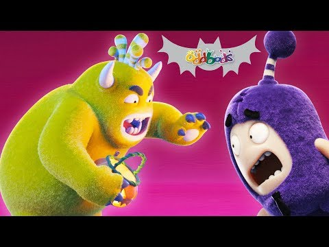 Oddbods : TRANSMORGRIFIER | Halloween Cartoons For Kids