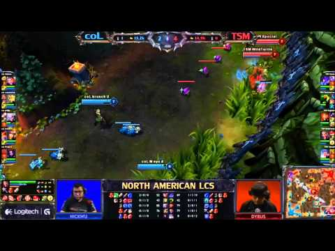 compLexity vs Team Solo Mid LCS Super week 10 NA 1080p HD NO Pauses :)