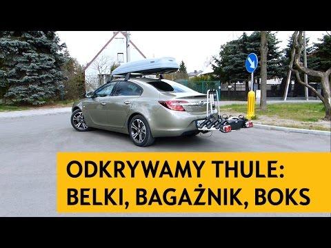 Belki na dach. boks. bagażnik rowerowy na hak. Thule. Jak zamontować? Sklep DIXI-CAR