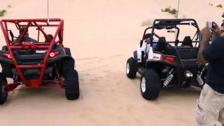 Supercharged rzr s vs 2011 xp china wall
