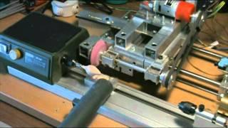 Play mini tornio cambio ghiera for Mini tornio proxxon