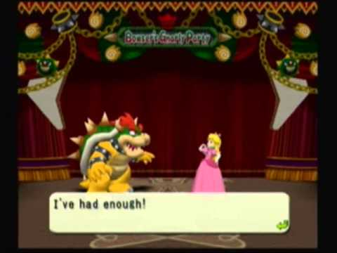 Mario Party 4 - Bowser (Cutscenes) (Peach)