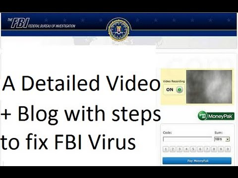 FBI MoneyPak Virus Removal | ComputerFixUS
