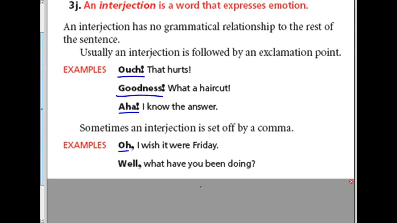 Sharp Interjections 7 - YouTube