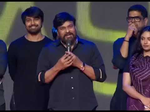 Megastar Chiranjeevi Speech at Vijetha Audio Launch || Kalyaan Dhev || Malavika Nair