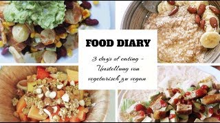 3 Days of eating I FOOD DIARY I ▹ Zaramiraa