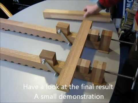 Homemade Heavy Duty Bar Clamp - YouTube