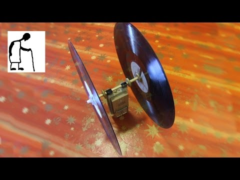 how to build a mousetrap car with records