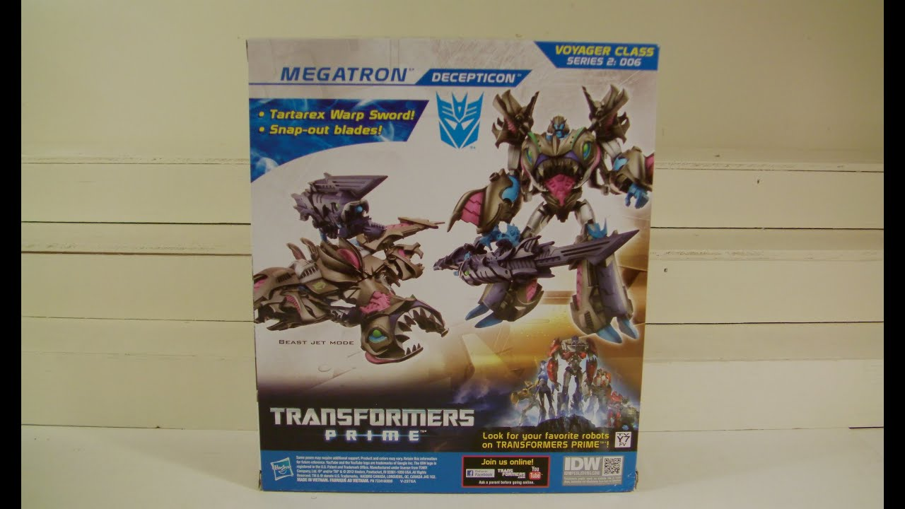 Sharkticon Megatron Review Sharkticon Megatron Toy