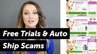How to Avoid Free Trials & Autoship Scams & What to Do If You are a Victim   HighYa