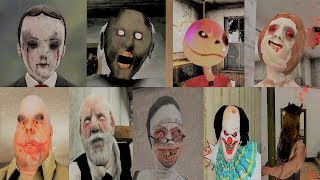 Escape Battle | Dread Teacher Granny Evil Kid Evil Nun Headhorse It Clown Erich Sann Mr Meat Skinny