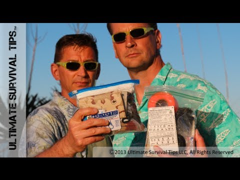 DIY - Build YOUR Own Ultimate Survival Kit - Pocket Survival Kit Showdown #1 - David vs. Dr. Joe