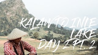2 Minute Daily Travel Vlog    Myanmar - Kalaw to Inle Lake Day 2 Pt. 2