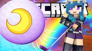 WE RAGE!! GALAXY MINI-GOLF IN MINECRAFT!