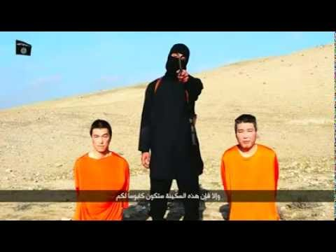 Breaking News ISIS Video Japanese Citizens Being Held Hostage 72 Hour demands January 2015