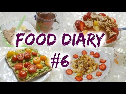 Gesunde & Leckere Frühstücks, Snack & Abendessen Ideen! Food Diary #6 video