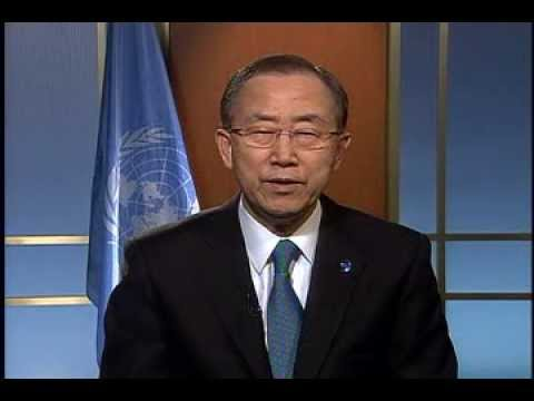 UN Secretary-General Ban Ki-moon Women Deliver 2013