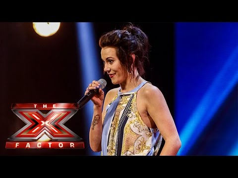Leah Kennedy sings Bruno Mars' It Will Rain   Arena Auditions Wk 2   The X Factor UK 2014