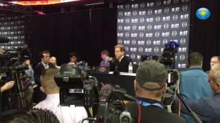 #Alabama media day Coach Nick Saban