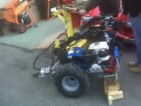 Spaccalegna zanon 10 tonnellate con motocoltivatore bcs for Pompa per motocoltivatore
