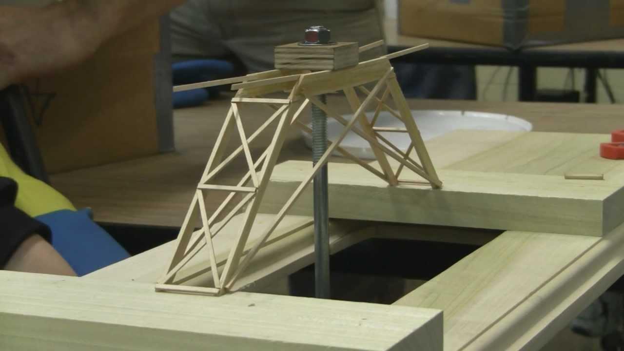 Engineering Physics Bridge Contest 2011 Youtube