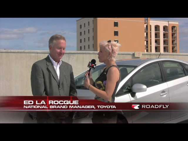 New Toyota Prius C First Test Drive by RoadflyTV with Emme Hall