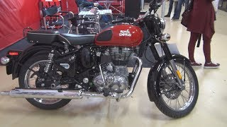 Royal Enfield Classic 500 EFI ABS Red (2019) Exterior and Interior