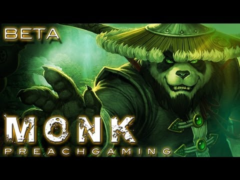 Mistweaver Monk Gameplay Mists of Pandaria Beta