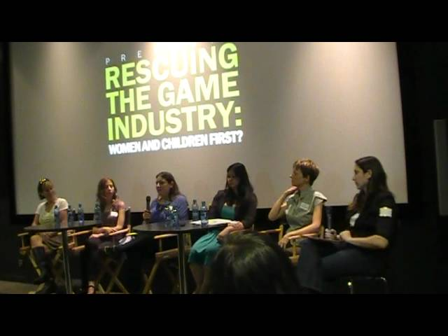 Women In Games Vancouver - Rescuing The Game Industry (Women & Children First)