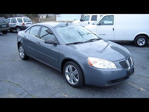 2008 Pontiac G6 Gt Start Up Engine And In Depth Tour