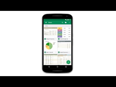 Google Sheets APK Cover