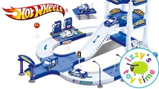 Cars for Kids | Hot Wheels Toys and Fast Lane Police City Playset - Fun Toy Cars for Kids
