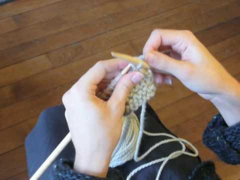comment arreter des mailles en tricot
