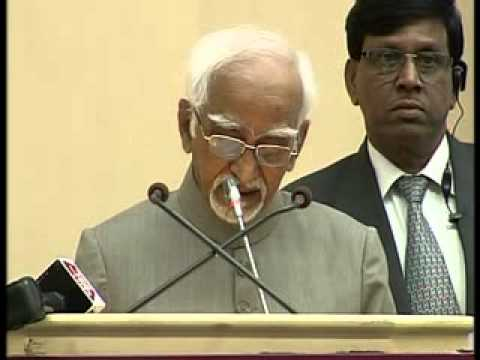 Vice President Hamid Ansari addresses National Press Day 2013