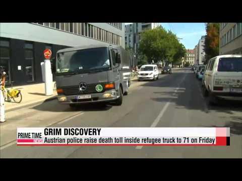 Migrant crisis in Austria and Libyan coast   오스트리아 및 리비아 이민자 위기