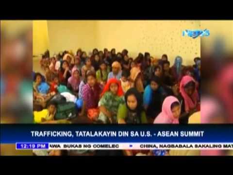 US-ASEAN summit discusses human trafficking