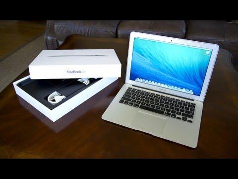 2013 MacBook Air Unboxing & Performance Review! (13 inch ...