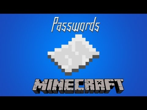 Minecraft - Passwords