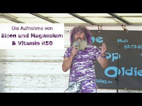 Robert Franz: Vorträge - Magnesium und Eisen besser aufnehmen & Wofür ist Vitamin B50 Komplex