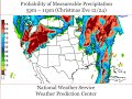 NWS Billings - Christmas 2014 Precipitation Timing