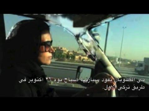 Saudi women get behind the wheel in defiance of ban